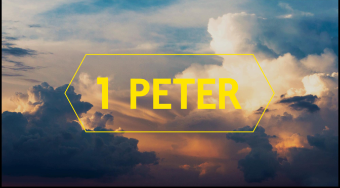 The Most Terrifying and the most Comforting Words in all of I Peter